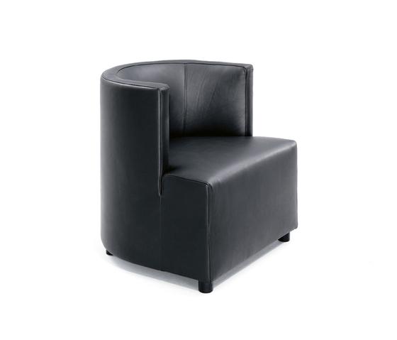 Mokka | 12812 by Wittmann | Lounge chairs