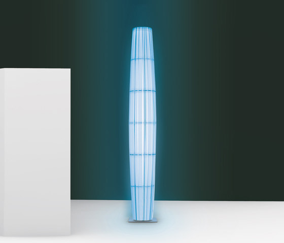Colonne RVB/RGB H160 floor lamp by Dix Heures Dix | General lighting