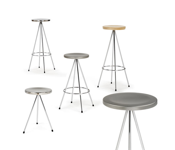 Nuta | stool 75 by Mobles 114 | Bar stools