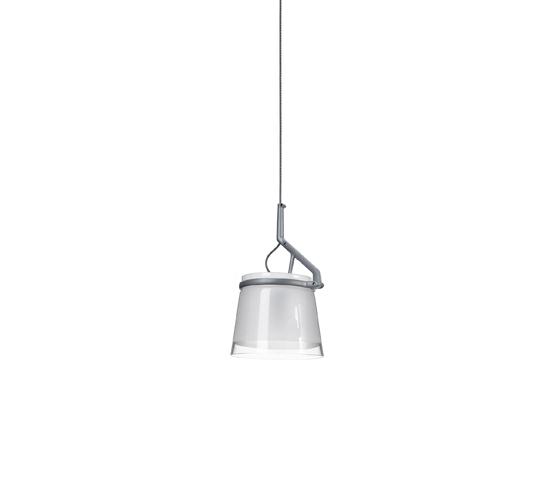 GlassGlass suspension by LUCEPLAN | General lighting