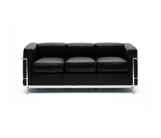 LC2 3-seater sofa de Cassina | Sofás lounge
