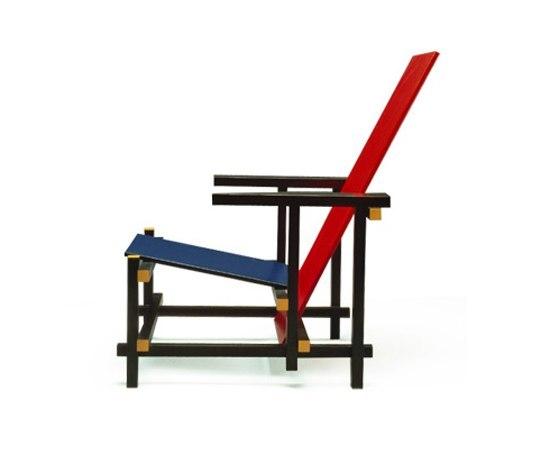 Gerrit Rietveld, Red,blue,yellow Chair, 1918