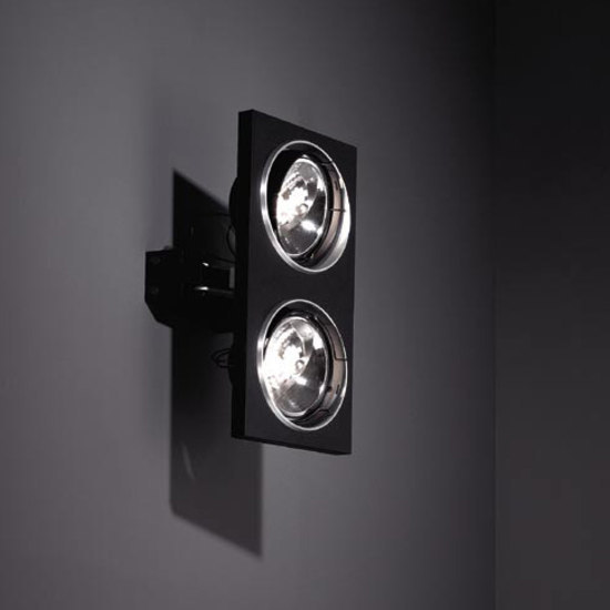 Aton 2x ARIII TI/EX vertical de Modular Lighting Instruments | Focos de pared