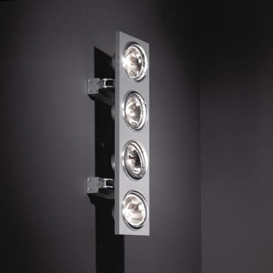 Aton 4Lx ARIII TI/EX vertical de Modular Lighting Instruments | Focos de pared