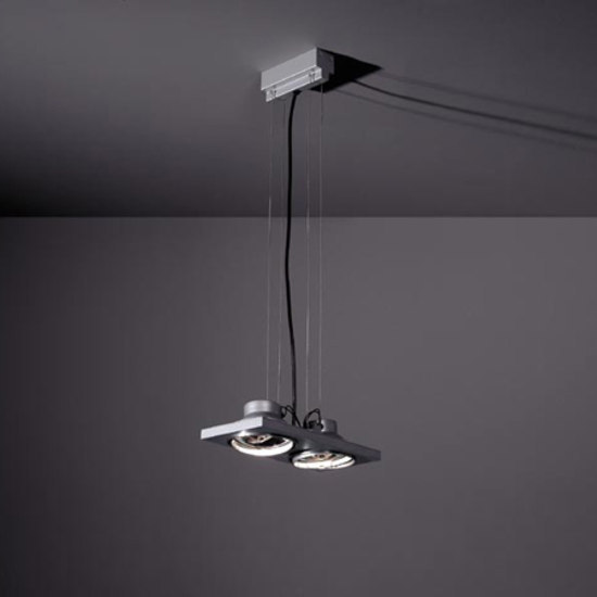 Aton 2x ARIII TI/EX suspension by Modular Lighting Instruments