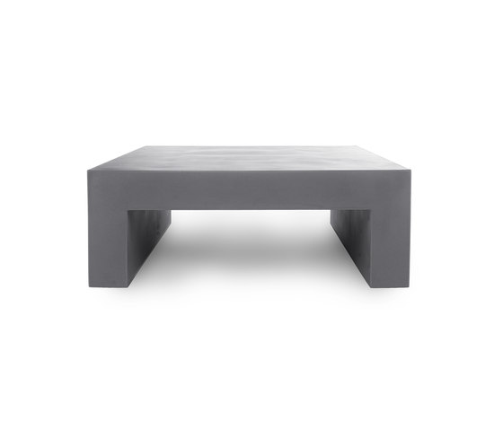 Vignelli Low Table | Model 1032 | Light Grey de Heller | Mesas de centro de jardín