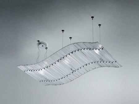 Nastri Sospensione by Venini   General lighting