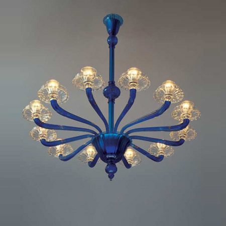 Classici 99.20 by Venini | Ceiling suspended chandeliers