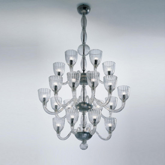 Classici 99.55 by Venini | Ceiling suspended chandeliers