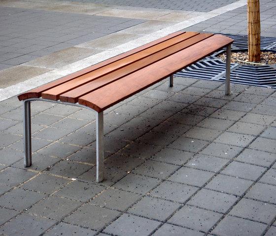 NeoRomántico Banqueta by Santa & Cole | Exterior benches