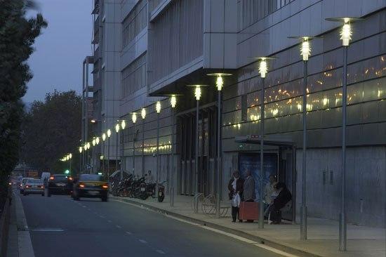 Lampagena de Santa & Cole | Éclairage de rue