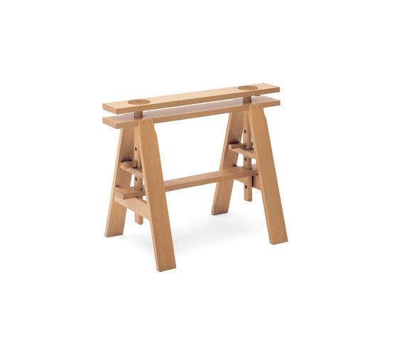 Leonardo | 2650 von Zanotta | Tischböcke
