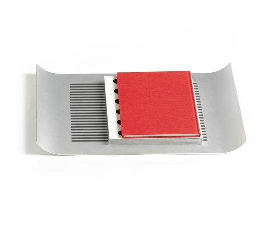 Alu Line Black Stripe by Askman Design | Trays