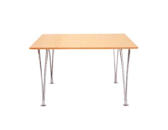Table with expansionlegs by Bruno Mathsson International | Dining tables