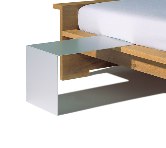 Moonwalker solid wood bed by Lampert | Double beds