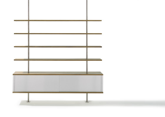 Eiermann shelving by Richard Lampert | Shelving