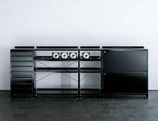 Aluminium shelves de Lehni | Estantería