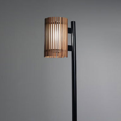 Rib pole fixture by ZERO | Path lights