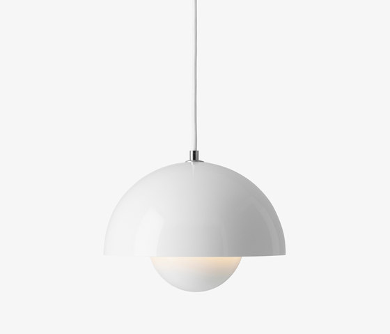 FlowerPot Pendant VP1 white by &TRADITION | General lighting