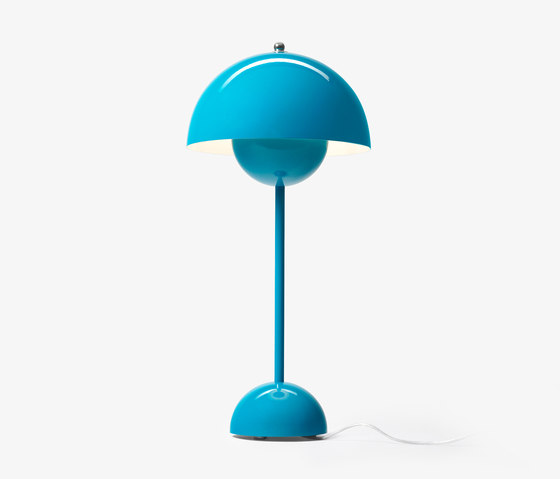 FlowerPot Table VP3 turquoise by &TRADITION | General lighting