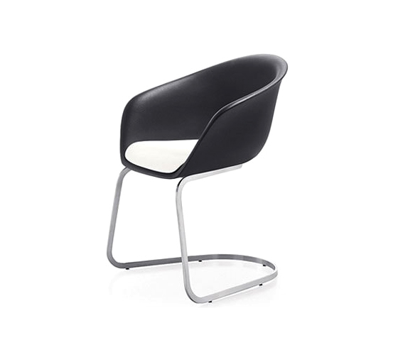 Duna | D003/D016 by Arper | Visitors chairs / Side chairs