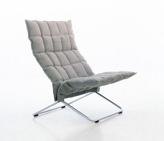 k Chair | wide | with Tubular Frame de Woodnotes | Fauteuils
