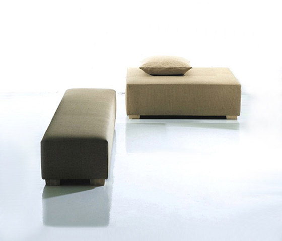 Bench by Woodnotes | Upholstered benches