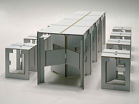Falter XXL folding table by mobilia collection | Dining tables