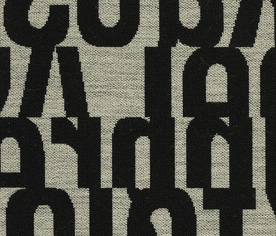 Letters 140 von Kvadrat | Stoffbezüge