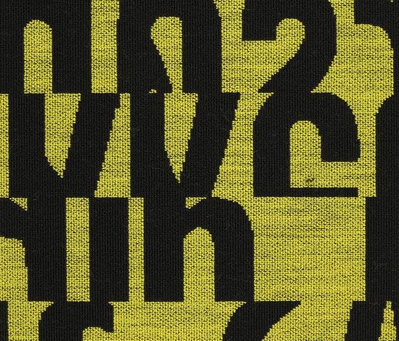 Letters 440 di Kvadrat | Tessuti