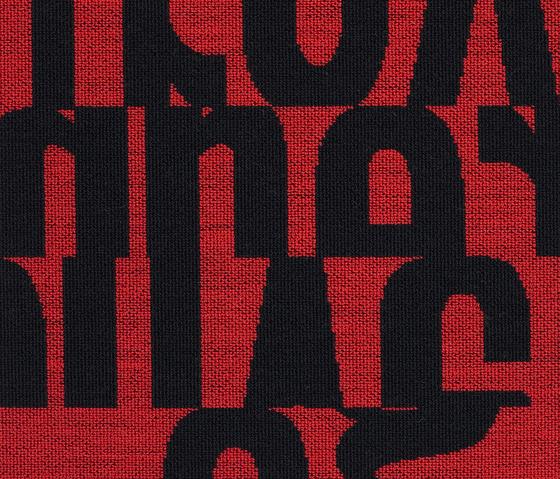 Letters 640 di Kvadrat | Tessuti