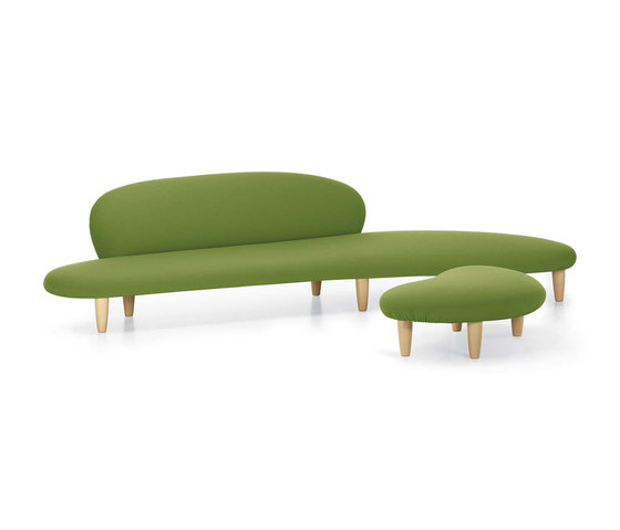 Freeform Sofa & Ottoman by Vitra