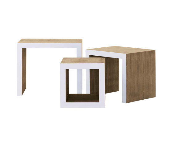 Low Table Set de Vitra | Tables gigognes