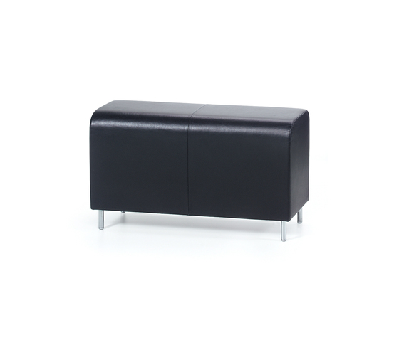 Bench Two-seater von Vitra | Wartebänke