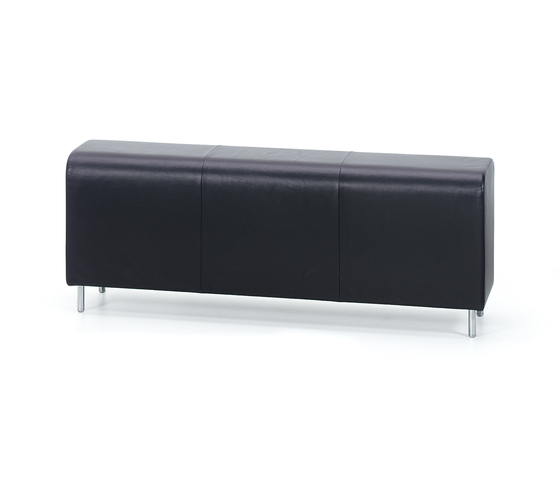 Bench Three-seater by Vitra | Waiting area benches