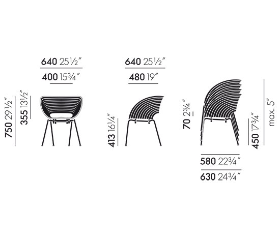 Tom Vac de Vitra | Sillas multiusos