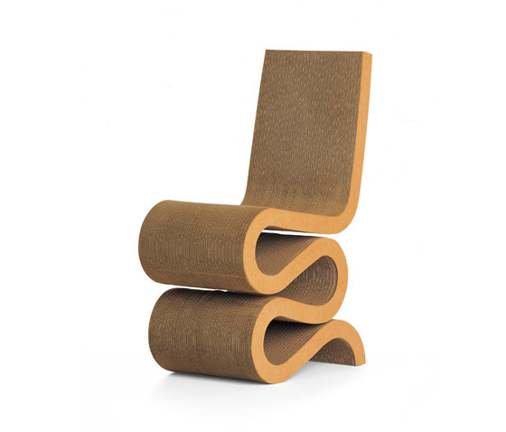 Wiggle Side Chair by Vitra | Chairs