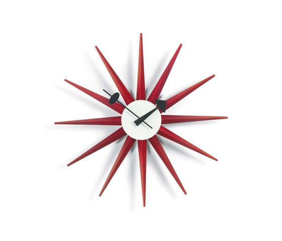Sunburst Clock di Vitra | Orologi