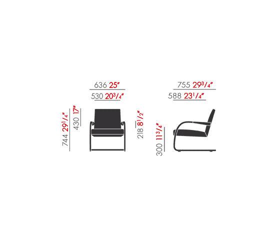 Visalounge by Vitra | Lounge chairs