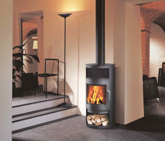 RONDO by Attika Feuer | Steel stoves