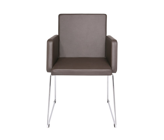 Just Skid frame Chair by KFF | Visitors chairs / Side chairs