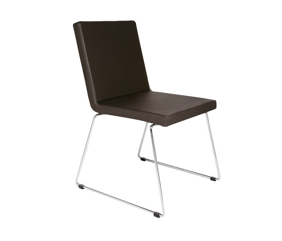 Just Skid frame Chair by KFF   Visitors chairs / Side chairs