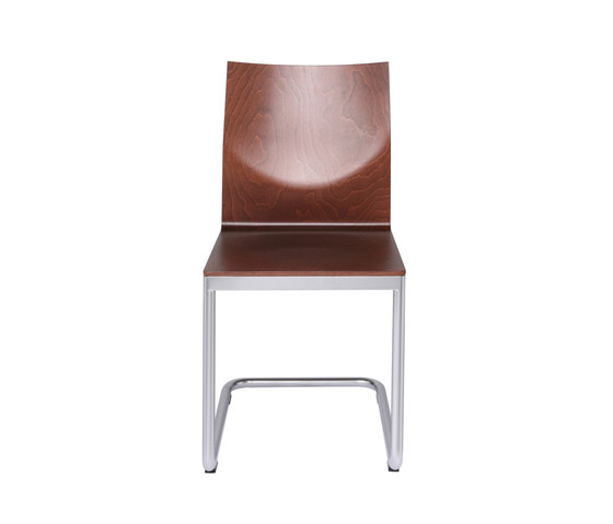 Glooh Wood cantilever by KFF | Visitors chairs / Side chairs