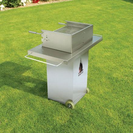 charc.grill st.steel de Radius Design | Barbacoas