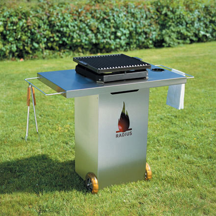 grill stainlsteel by Radius Design | Barbecues