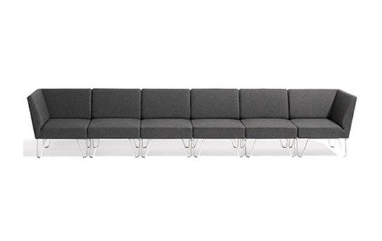 Qvarto modular sofa di Blå Station | Sistemi di sedute componibili