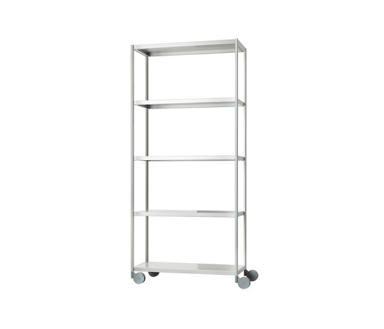 Rack Trolley by Magis | Office shelving systems