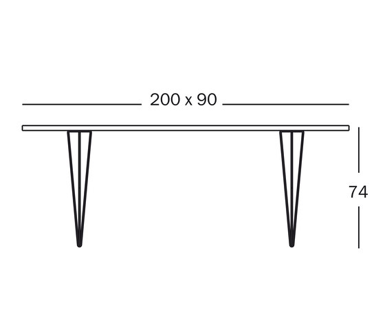 Tavolo XZ3 by Magis | Cafeteria tables