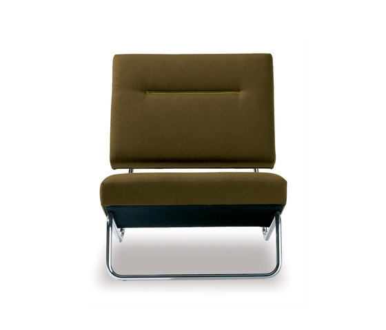 Lounge Chair/Ottoman Hirche von Richard Lampert | Sessel