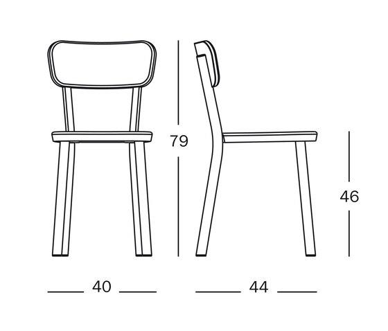 Déjà-Vu Stuhl von Magis | Besucherstühle